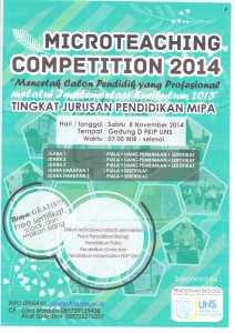 Microteaching Compettition